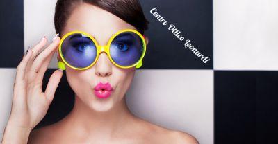 offerta montatura da sole con lenti graduati promozione lenti da sole graduate colorate