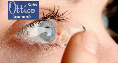 centro ottico leonardi offerta lenti a contatto occasione occhiali graduati economici catania