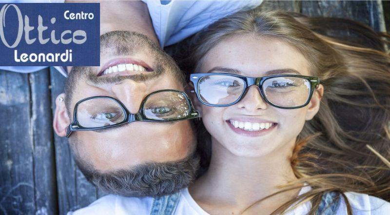 Centro Ottico Leonardi offerta occhiali da vista - occasione lenti graduate Catania