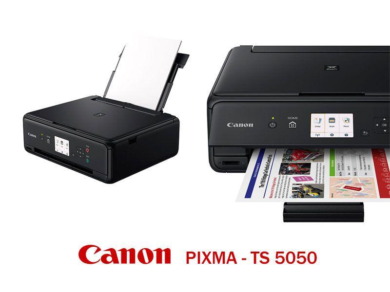 offerta stampante inkjet canon TS 5050 - stampante multifunzione pixma TS 5050