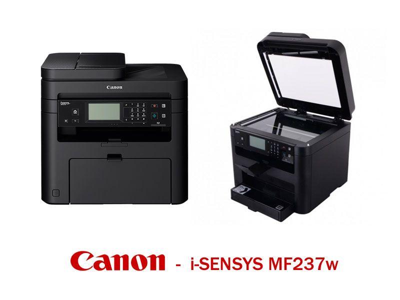 offerta stampante laser canon i-SENSYS MF237w -  multifunzione stampa fax scanner canon MF237w