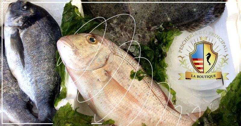 Offerta vendita e distribuzione pesce fresco del Salento  -  Pescheria dei Principati