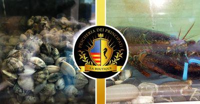 pescheria dei principati offerta vendita pesce vivo salerno occasione crostacei vivi salerno