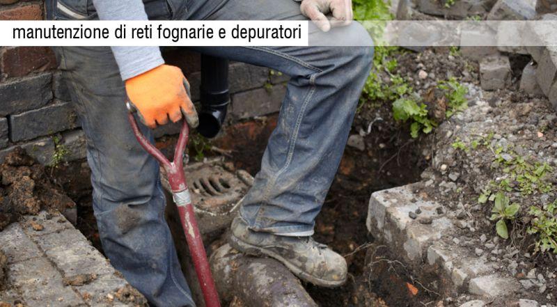 OFFERTA manutenzione reti fognarie – promozione manutenzione reti fognarie e depuratori