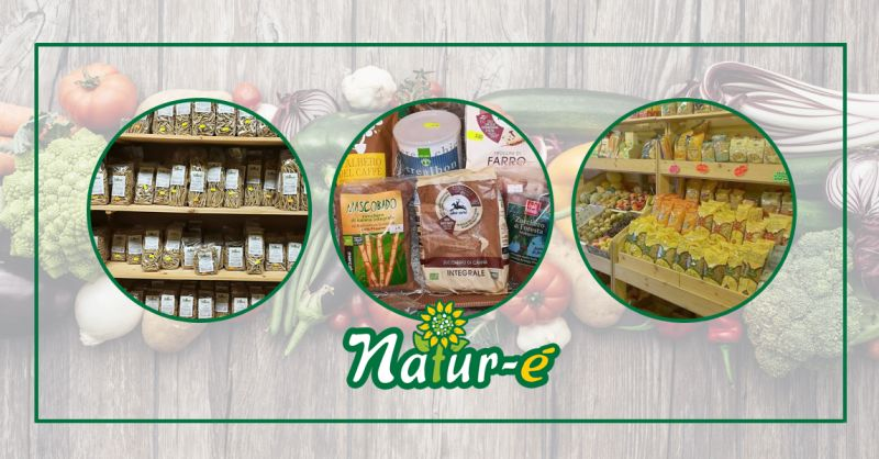 NATUR'E' - offerta vendita prodotti biologici vegani a Teggiano
