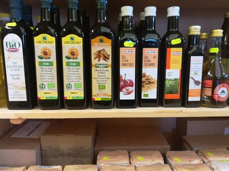 NATURE - Offerta olio aceto e glasse aromatici biologici Vallo di Diano Salerno