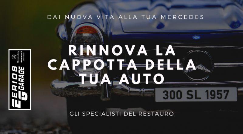 Offerta restauro delle cappotte Mercedes Benz a Pordenone – Offerta restauri conservativi auto a Pordenone