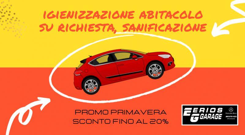 Offerta servizio di igienizzazione auto a Pordenone – occasione servizio di sanificazione auto in promozione a Pordenone