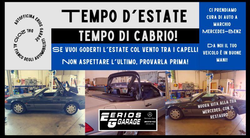 Offerta restauro cappotte auto a Pordenone – occasione restauro conservativo di Mercedes-Benz