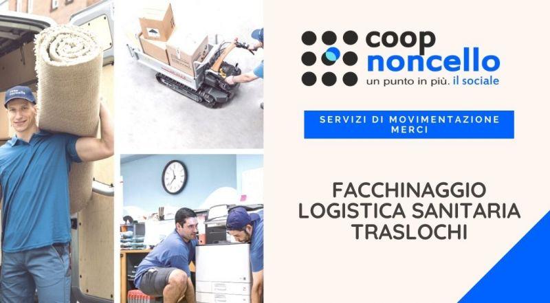 Occasione servizio di facchinaggio e trasporto merci a Pordenone – Offerta servizio di Traslochi di abitazioni, cantine a Pordenone