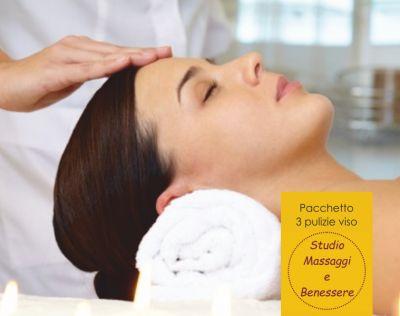 offerta pulizia viso specifica promozione pacchetto benessere pulizia viso
