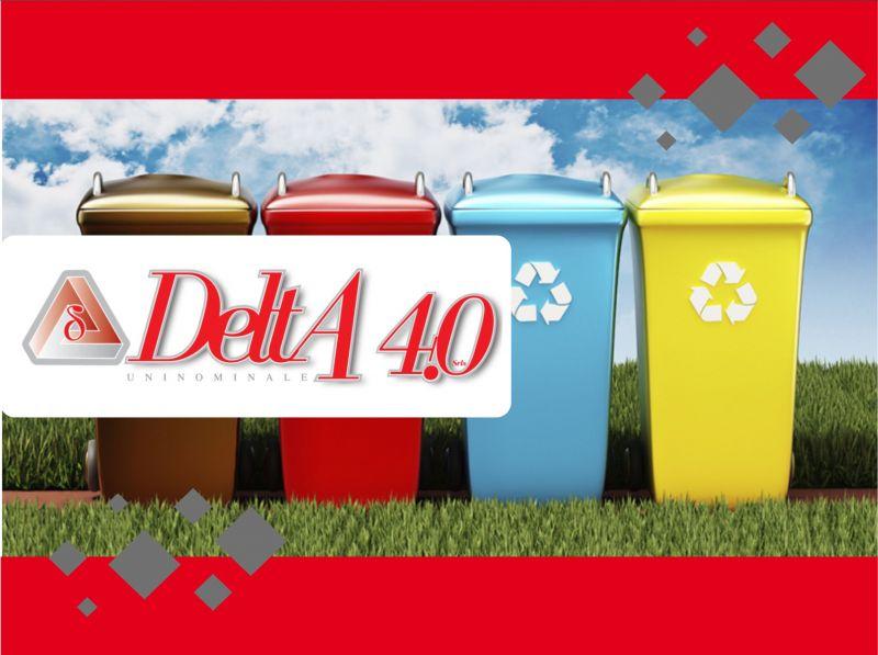 DELTA 4.0 - SERVIZIO DI MOVIMENTAZIONE PULIZIA CONTENITORI CONDOMINIALI RACCOLTA DIFFERENZIATA