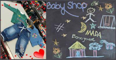 baby shop offerta abbigliamento bambini da 0 a 12 anni noventa vicentina