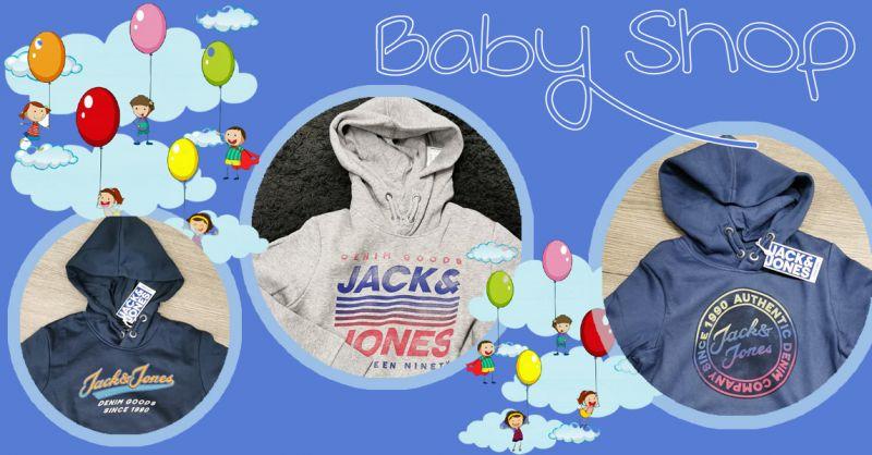 Occasione NUOVI ARRIVI da Baby Shop FELPE JACK&JONES da 10 a 16 ANNI Vicenza