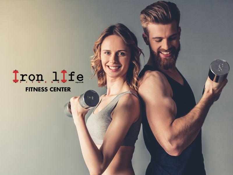 Offerta servizio palestra professionale - Promozione corsi professionali aerobica Iron Life