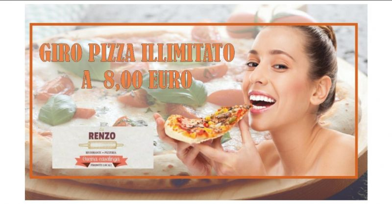 offerta pizzeria menu fisso e giro pizza a Lucca - RISTORANTE DA RENZO