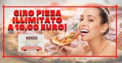 ristorante pizzeria da renzo promozione menu fisso pizza no stop lucca