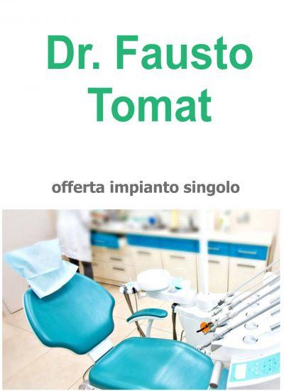 offerta implantologia udine offerta implantologia impianto singolo con capsula in zirconio ud
