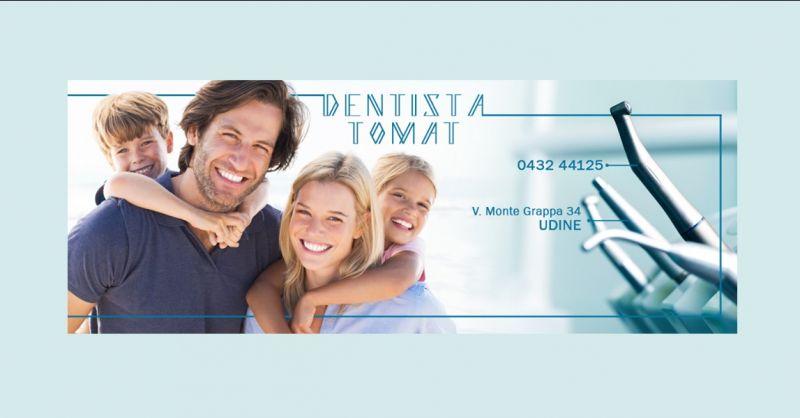 DENTISTA TOMAT DR FAUSTO - offerta intervento di implantologia dentale e ortodonzia Udine
