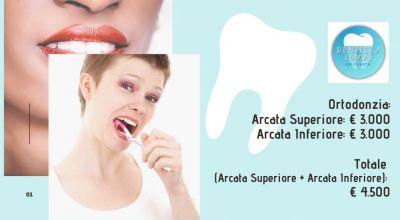 occasione ortodonzia arcata superiore e inferiore a udine vendita studio dentistico a udine