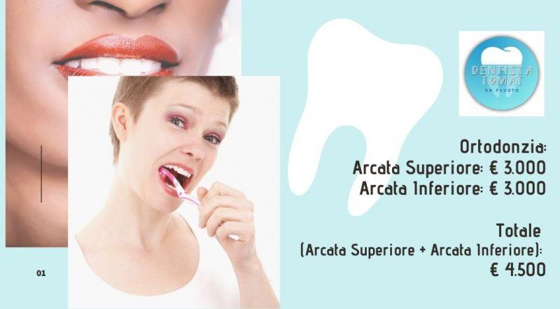 Occasione ortodonzia arcata superiore e inferiore a Udine - Vendita studio dentistico a Udine
