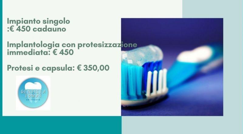Offerta Implantologia con protesizzazione a Udine – Occasione Chirurgia endossea a Udine