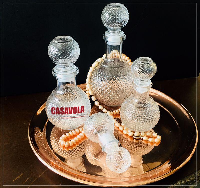 Offerta vendita antique bottle barman - Promozione distribuzione bottigliette vetro per barman
