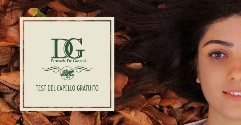 offerta test del capello gratuito - promozione preparazione galeniche naturali capelli