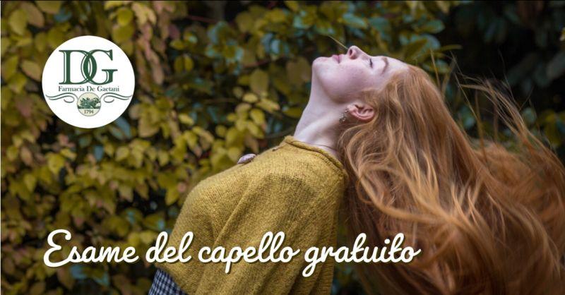 promozione vendita prodotti anticaduta catania - occasione test del capello catania