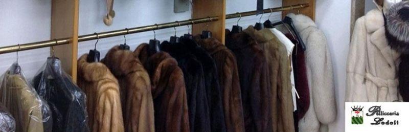Offerta rimessa a modello pellicce Roma Prati
