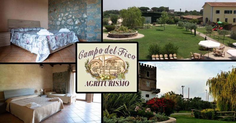 offerta cena e dormire Latina - occasione weekend romantico Agriturismo Campo del Fico Aprilia