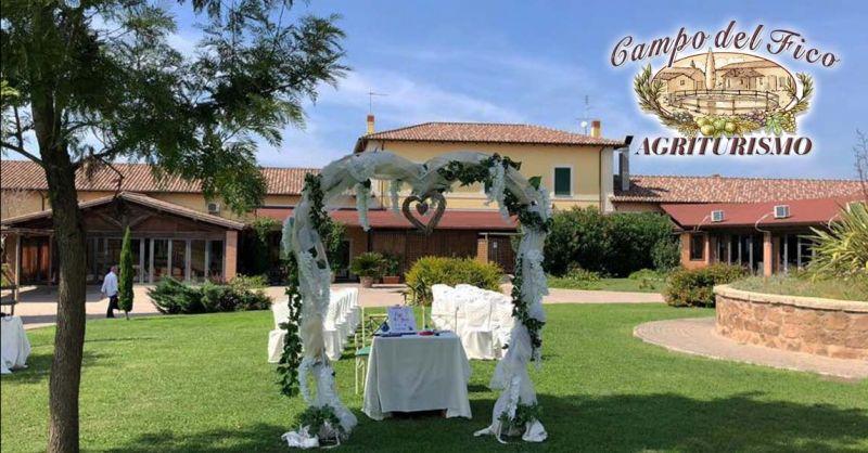 Offerta Matrimonio in Agriturismo Latina - Occasione Banchetti nuziali e ricevimenti Aprilia