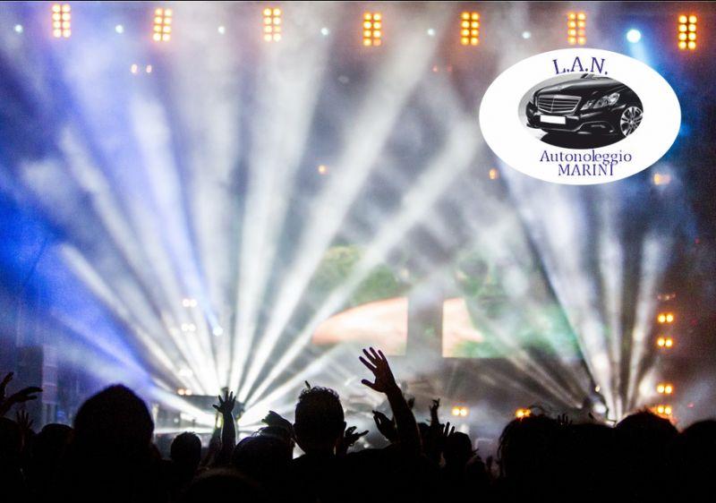 LAN autonoleggio offerta trasferimento casino - promozione transfer stadi concerti