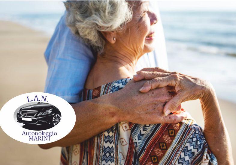 LAN autonoleggio offerta trasporto e assistenza anziani - promozione transfer da per ospedali