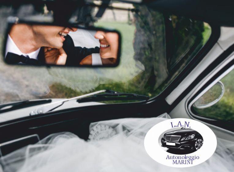 LAN autonoleggio offerta noleggio auto per cerimonie - promozione noleggio auto matrimonio