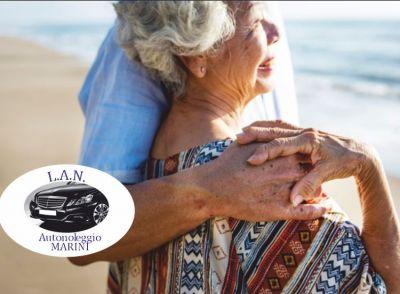 lan autonoleggio offerta trasporto e assistenza anziani promozione transfer da per ospedali