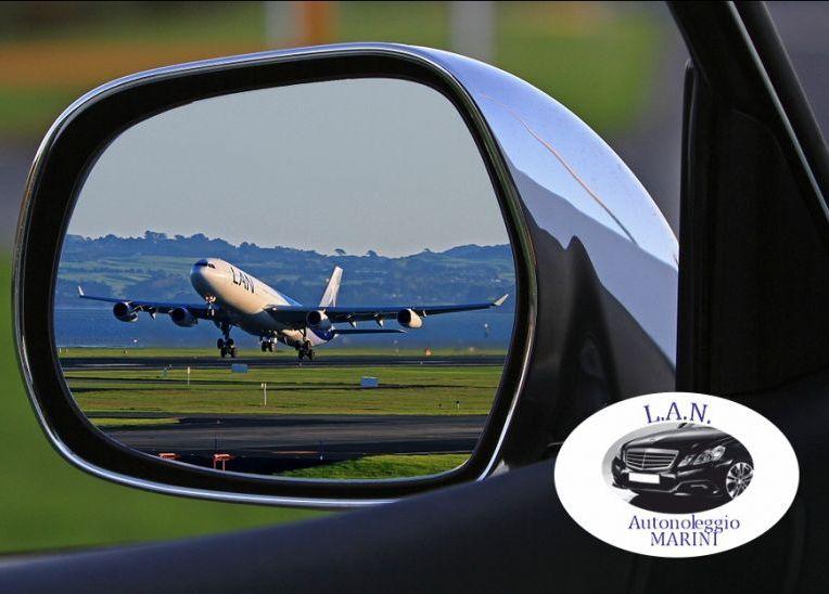 LAN autonoleggio offerta da per aeroporti - promozione trasferimento da per stazioni hotel