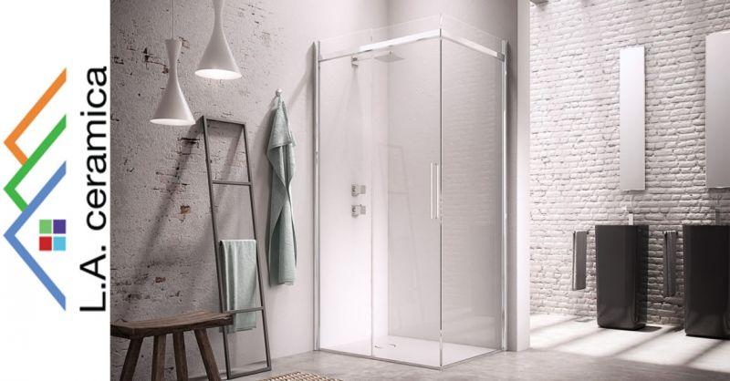 offerta vendita box doccia arredo bagno - occasione vendita sanitari bagno rubinetteria Roma