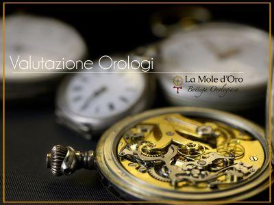 offerta servizio valutazione orologi di lusso promozione valutazioni professionali orologi
