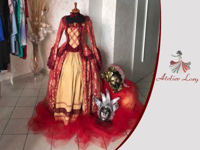 offerta servizio sartoriale carnevale promozione realizzazione abiti da cerimonia artigianali