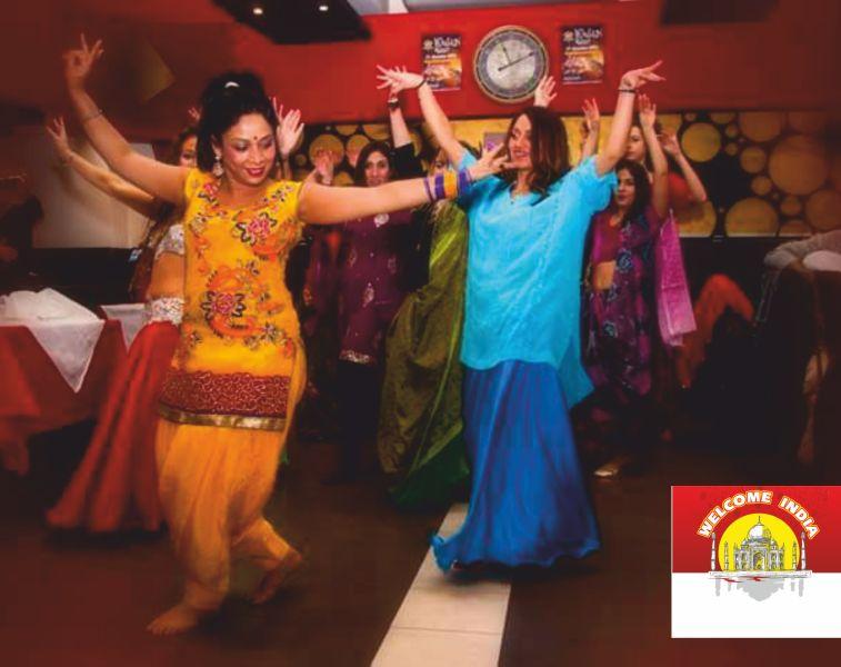 offerta serata bollywood balli orientali spettacoli musicali-promozione menu all you can eat