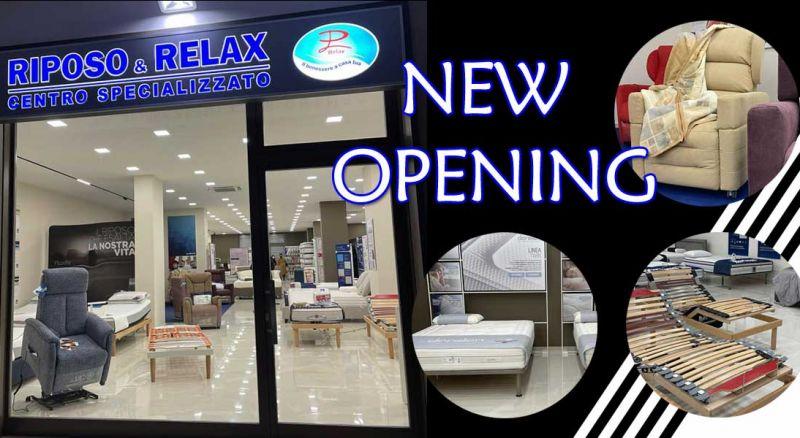 PL Relax - Offerta nuovo spazio espositivo materassi letti Barletta - Occasione nuovo showroom materassi doghe Barletta