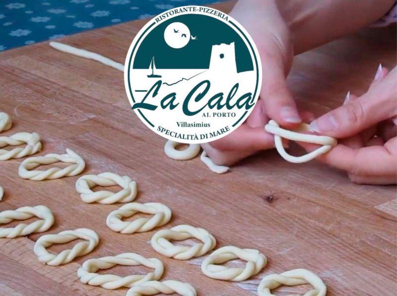 Cala al Porto Villasimius - dove mangiare lorighittas fatte a mano ricetta sarda