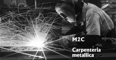 offerta m2c saldature saldatori certificati esperti vicenza occasione carpenteria metallica