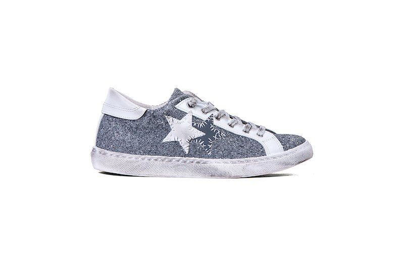 Offerta  sneaker glitter 2star donna