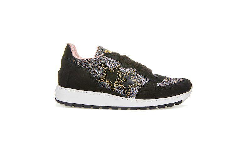 offerta sneaker donna  nera 2Star ecommerce - promozione vendita online scarpe da running