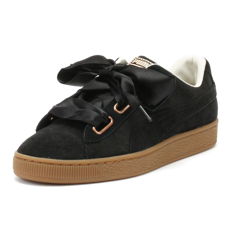 Sneakers nera Puma Donna