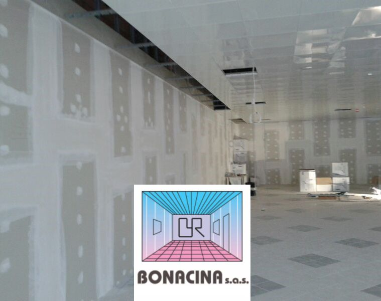BONACINA SAS offerta pareti divisorie – promozione muro interno cartongesso