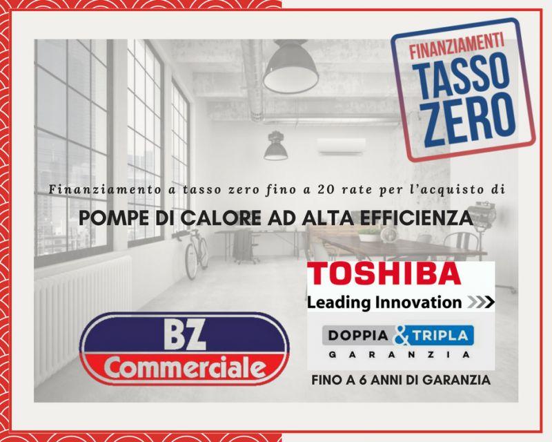 BZ Commerciale Finanziamenti Tasso Zero per acquisto di pompe di calore ad alta efficienza