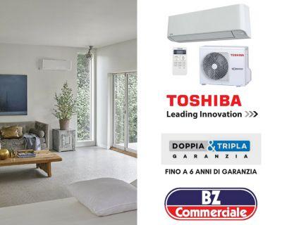 bz commerciale offerta vendita e installazione climatizzatori toshiba